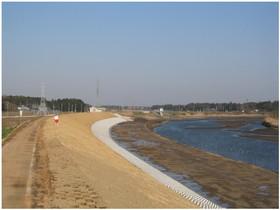 上高井堤防強化工事
