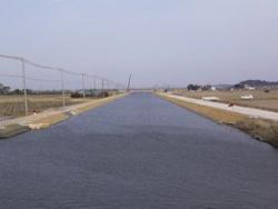 両総農業水利事業・八間川排水路その5工事