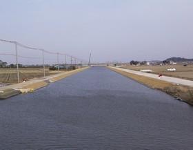 両総農業水利事業・八間川排水路その5