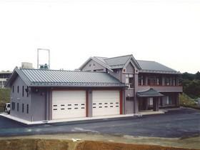 佐原市外五町消防組合西分遺所庁舎建設工事