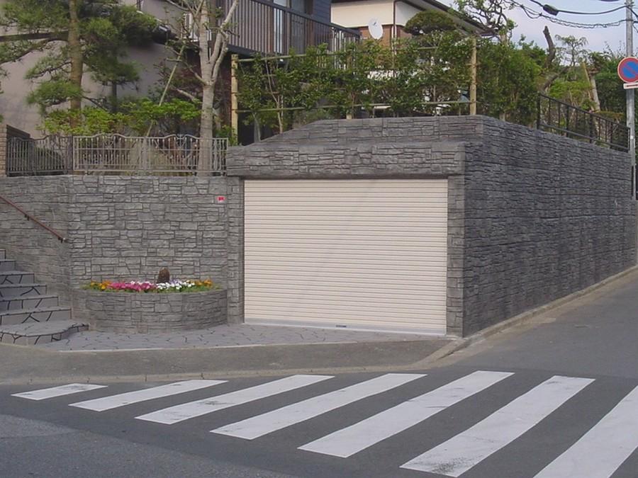 米川邸車庫