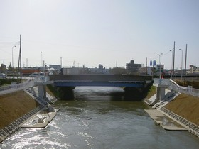 両総農業水利事業 第1制水門撤去工事