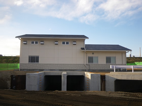 浄向川 松崎排水機場建設工事