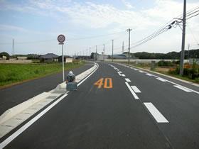 県単道路改良(幹線)工事(北ルート)