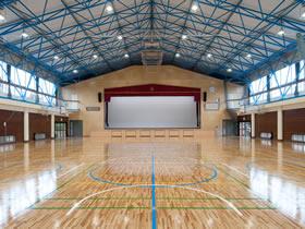 香取市立小見川北小学校 屋内運動場耐震改修工事