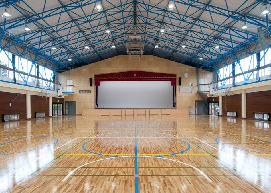 小見川北小体育館