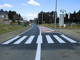 県単舗装道路修繕工事名木