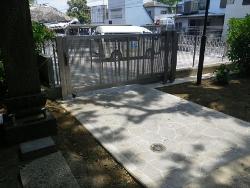 白井保育園駐車場整備工事