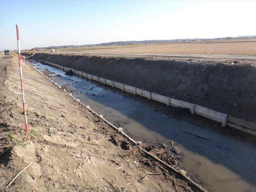 排水路復旧工事
