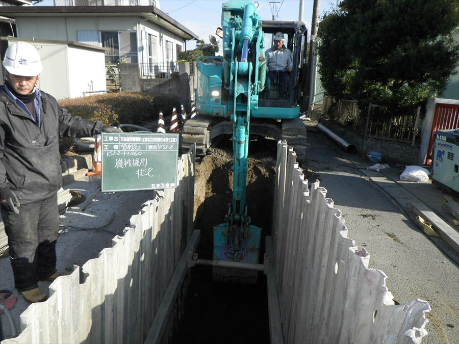 下水道災害復旧1-3(施工中)