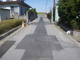 道路災害復旧工事(23災道第145号)及び舗装修繕工事