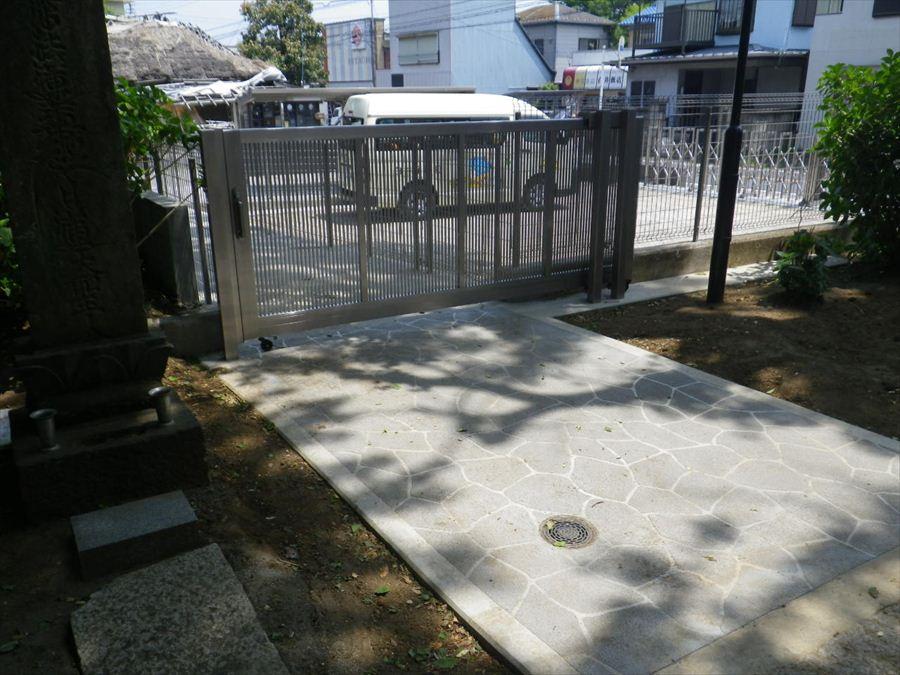 白井保育園舗装2