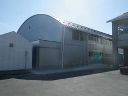 新島小学校屋内運動場耐震補強工事