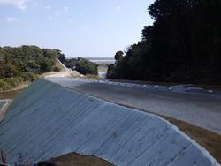 ふさのくに観光道路工事(北ルート道路改良工)