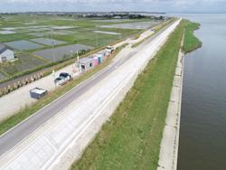 R1西浦右岸本新島地区波浪対策護岸工事
